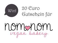 Give-Away! Gewinnt einen 20 Euro Gutschein für NomNom vegan bakery! Das Give-Away von The bird's new nest für diese Woche ist ein...