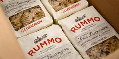 Pasta Rummo, family owned and produced in Benevento, Campania Italy