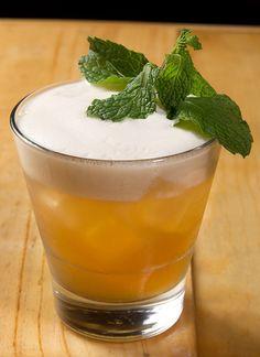Mai Thai - Aged Rum, Orange Curaçao, Velvet Falernum, Lemongrass Syrup (Recipe), Lime Juice, GInger Foam, Mint Sprig.