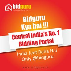 #‎Bidguru‬ Central India's No. 1 Bidding Portal !!! ‪#‎KeepBidding‬ ‪#‎KeepWinning‬ Image may contain: text