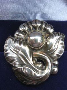 Vintage Sterling Silver Georg Jensen Pin