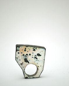 """Time"" by Natalia Araya Vitreous enamel on copper"