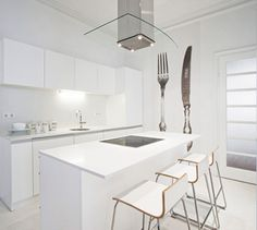 White apartment in Sofia ♥ Бял апартамент в София | 79 Ideas