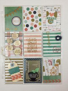 Mrs Crafty Adams: Pocket Letters #pocketletter #pocketletterpals My Mind's Eye Market Street