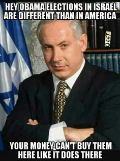 You tell him Netanyahu. Congratulations on your victory in the Israeli election. STAY STRONG! Shalom ;o)