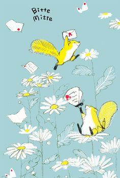 momoro illustration. It's so cute, I'm dying.