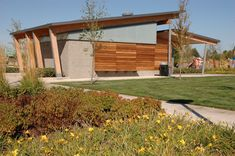 In Situ Architecture — discovery meadows park shelters