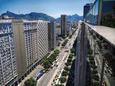 Avenida Presidente Vargas, Centro da Cidade, Rio de Janeiro, Brasil.