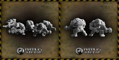 Our newest release - Orc Shooters. Just remember to stay out of the line of fire. What do You think about them?  https://puppetswar.eu/product.php?id_product=639