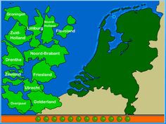 Provincie leg puzzel Nederland