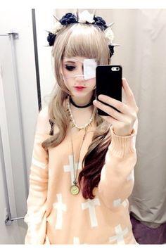 Pastel Goth fashion #Irodohieru