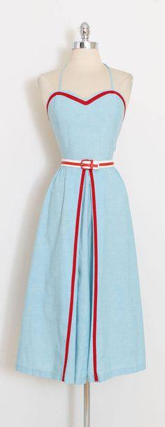 1940s Dresses, Vintage Dresses, Vintage Outfits, Pretty Outfits, Pretty Dresses, Beautiful Outfits, 1940s Fashion, Vintage Fashion, Mode Pop
