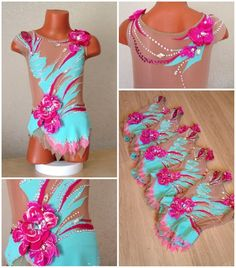 Gym Leotards, Rhythmic Gymnastics Leotards, Dance Outfits, Cute Outfits, Great Costume Ideas, Ballroom Dance Dresses, Figure Skating Dresses, Dance Costumes, Costumes For Women