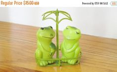 IT'S NOT EASY BEING GREEN.....................Gratitude Treasury by Pat Peters on Etsy
