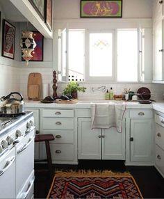 tiny kitchens and windows