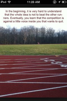 Track and field quotes <3