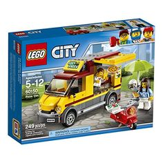 LEGO City Great Vehicles Pizza Van 60150 Building Kit - Toys 4 My Kids