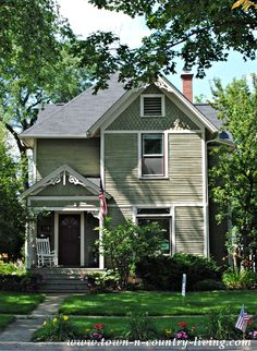 Victorian Home in Wheaton, Illinois