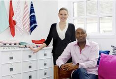 """ON THE BLOG: Meet the design duo, Tuulia & Hammidou, of Tensira - the artisan brand behind our…"""