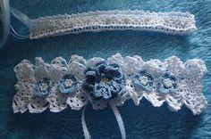 Free Shipping Wedding Crochet Bead Flower by mkhrcrochet1965