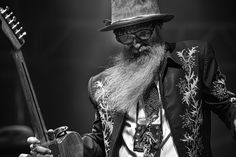Grew up listening to and watching ZZ Top. Today they still make my jaw drop like a little girl.