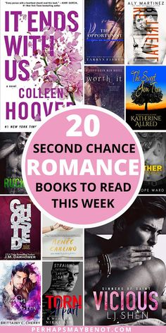 20 Second Chance Romance Books To Read Now - Perhaps, Maybe Not