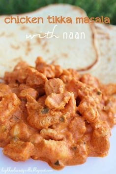 High Heels and Grills: Chicken Tikka Masala and Naan. This is my favorite dinner of all time! It never gets old and everyone we've ever shared it with has loved it! And Naan recipe. Naan Recipe, Chicken Tikka Masala, Menu, Cooking Recipes, Quick Recipes, Yummy Recipes, Dinner Recipes, Veg Recipes, Chicken