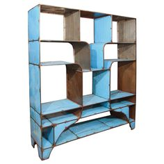 African Shelf in the manner of Jean Prouve