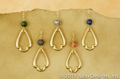 ER190 #juliodesigns #handmadejewelry #vintage