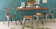 Love the look of this table, just too large Shop the Look: Urban Industrial | Cost Plus World Market