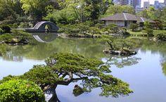 Take a walk in Shukkeien