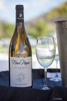 Bargain! Four Paws wooded Chardonnay R80 #wine #SouthAfrica