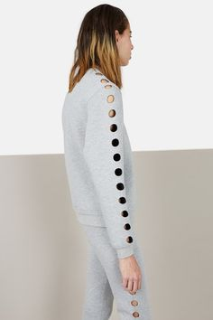 OPENING CEREMONY   CUT-OUT SWEATSHIRT