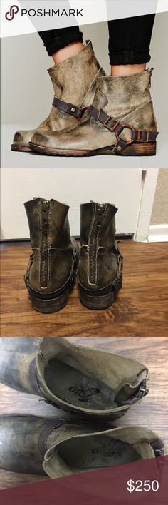 68b8eb72ed2 Freebird distressed ankle boots