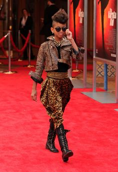 Willow Smith at 'The Karate Kid' Premiere
