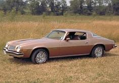 Chevy Camero 1975 My first car.