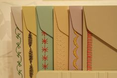 Sewn Stationary by whatthehartlikes on Etsy