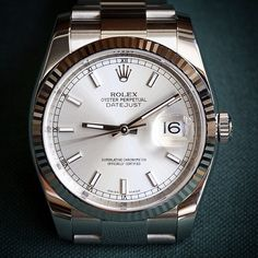 The Rolex Datejust.