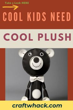 Check out some super-awesome stuffed animals that show you why all cool kids need cool plush. Research shows that stuffed toys can be a great comfort for children as they can settle kids who are in distress or when they find themselves in unfamiliar surroundings. This light and fun post on Craft Whack reveals some pretty interesting stuffed toys, from plush trophy heads, plushy turtles, a Corduroy aardvark, felt dolls, and clever chickens. See the full article here. #PlushToys #StuffedAnimals