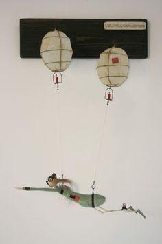 Brain's Fairy Aiding Inventions - Samantha Bryan Gcse 2017, Art Thou, Little Monsters, Character Development, Hot Air Balloon, Public Transport, Sculpture Art, Inventions, Art Dolls