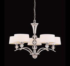 Murren 5 Light Chandelier :: Chandeliers :: Products :: Savoy House Lighting