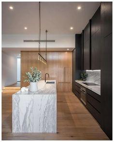 Contemporary kitchen lighting fixtures mid century ideas for 2019 Kitchen Bar Design, Kitchen Layout, Interior Design Kitchen, Contemporary Interior Design, Kitchen Bars, Kitchen Ideas, Kitchen Colors, Kitchen Inspiration, Modern Design