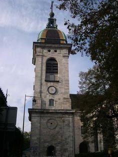 Clocher de la cathédrale Saint Jean, Besançon, Franche-Compté