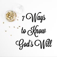 """How often do all women struggle with this question, """"God what is your will for me?"""" In so many different situations we ask this question. Here are 7 ways to find the answer."""