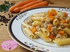 Pasta+con+Ragù+di+Polpette+e+Carote