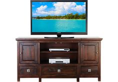 Shop for a Valley Stream Console at Rooms To Go. Find TV Consoles that will look great in your home and complement the rest of your furniture.