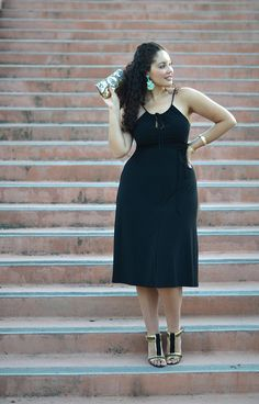 The perfect LBD -- Girl with Curves -- I'm in love with this fashion blog. It's pretty rare for me to see someone with a similar body rocking an awesome fashion inspiration blog.  I <3 her.