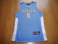 Denver Nuggets NBA #5 Blue J.R. Smith Jersey [F367]