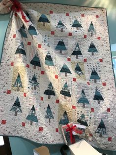 Winter Pines | OccasionalPiece--Quilt!