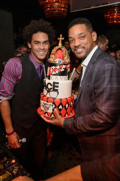 Trey Smith and Will Smith at Lavo